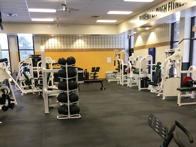 Fitness Center at Mercer